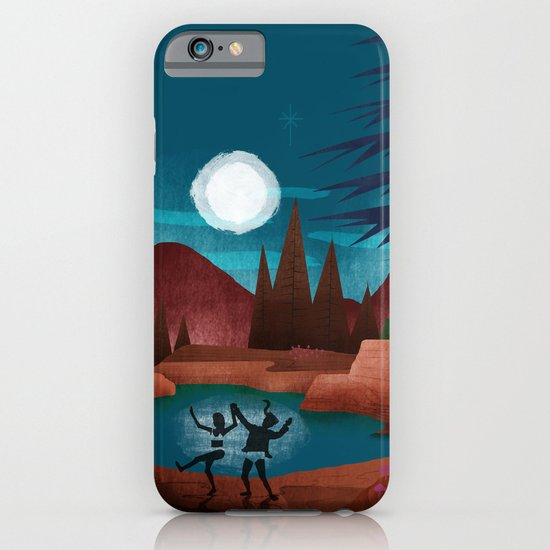 Moondance - Inspired by Wes Anderson's movie Moonrise Kingdom iPhone & iPod Case