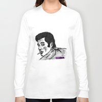 zuko Long Sleeve T-shirts featuring Danny Zuko by Feral Doe