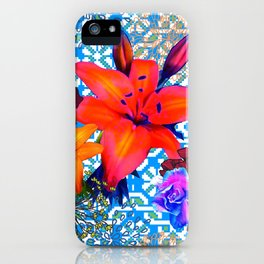 old flowers iPhone Case