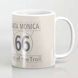 the end of route 66 ... Coffee Mug