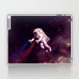 """""""Shooting Stars"""" - Astronaut Artist Laptop & iPad Skin"""