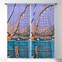 Gone Fishing Blackout Curtain