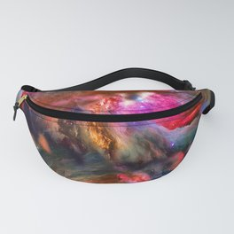 Deep Space Storm No3 Fanny Pack