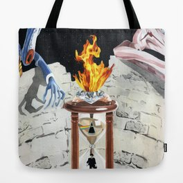 Rock & Roll Comics: Pink Floyd Tote Bag