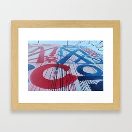 RETNA Framed Art Print