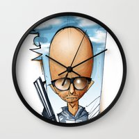 moby Wall Clocks featuring Moby by alexviveros.net