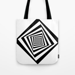 -5º / 85% downscale Rotating square Tote Bag