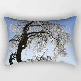 Winter Tree Rectangular Pillow