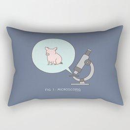 microscopig Rectangular Pillow
