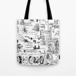 Da Vinci's Sketchbook Tote Bag