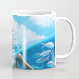 Ray Mermaid Coffee Mug