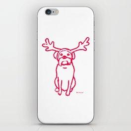 Scamp The Reindeer Dog iPhone Skin