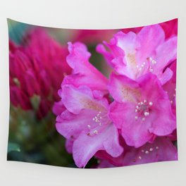 Blush Rhododendron Wall Tapestry