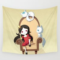 princess Wall Tapestries featuring Princess by Freeminds