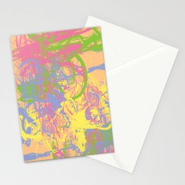 Complex 1 | Soft Pastel Abstract Art | Pastel Wall Art Stationery Cards