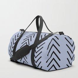 Powder Blue Arrow Duffle Bag