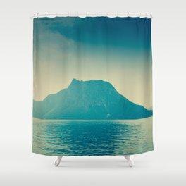 isla nublar... Shower Curtain