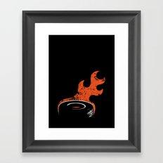 Weel Framed Art Print