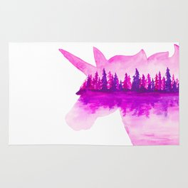 Unicorn Reflection Rug