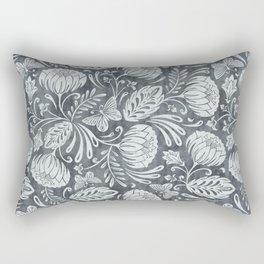 Arabella - Steel Rectangular Pillow