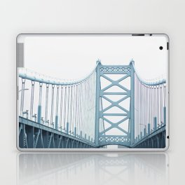The Ben Franklin Bridge Laptop & iPad Skin