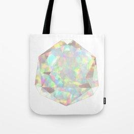 Milky White Opal Tote Bag