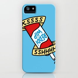 Reddi Wip iPhone Case