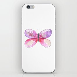 Violet Butterfly iPhone Skin