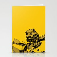 transformers Stationery Cards featuring Transformers: Bumblebee by Skullmuffins