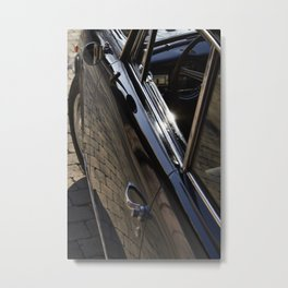Lancia Aurelia GT Door Metal Print