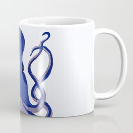 Octopus Blue Coffee Mug