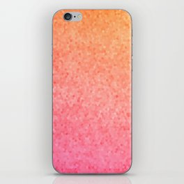 Sea Glass ~ Coral iPhone Skin