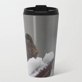 Sparrow & snow Travel Mug