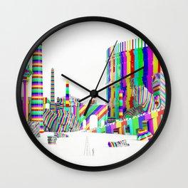 Color-Block Capriccio Wall Clock