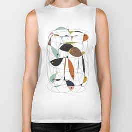 Fishing net Biker Tank