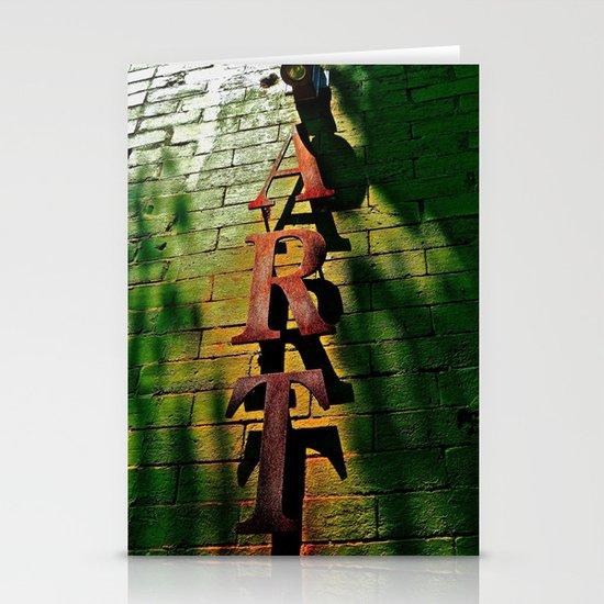 Art on Bricks Stationery Cards