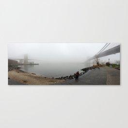 Bridges to Nowhere Canvas Print