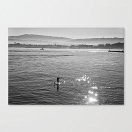 Sunburst in Monterey Canvas Print