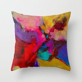 Shades of Colors Throw Pillow