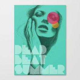 Deadbeat Summer Canvas Print