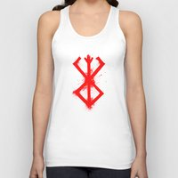 berserk Tank Tops featuring Cursed Mark by CaptainSunshine