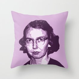 Flannery O'Connor Throw Pillow