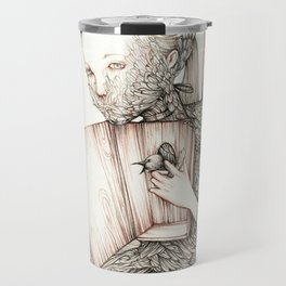 Drawings from personal  series Travel Mug