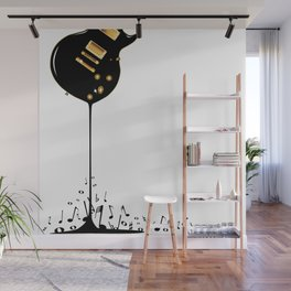 Flowing Music Wall Mural