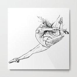 Ballerina Metal Print