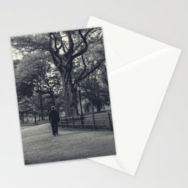 The stranger in the Park Stationery Cards