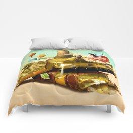 To Lands Away Comforters