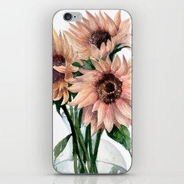 Sunflower III iPhone Skin