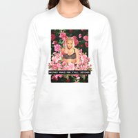 britney Long Sleeve T-shirts featuring BRITNEY PRAYS. by eriicms