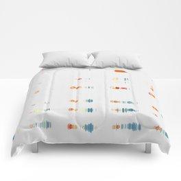 Fish Move Comforters